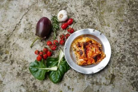 Hva med en nydelig og hjemmelaget grønnsakslasagne? Denne fikk jeg servert i Italia.