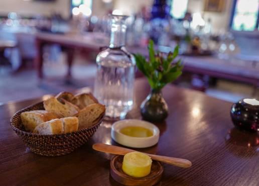 Deilig smør og italiensk olivenolje