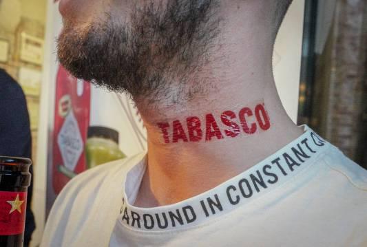 TAbasco-tattis, anyone?