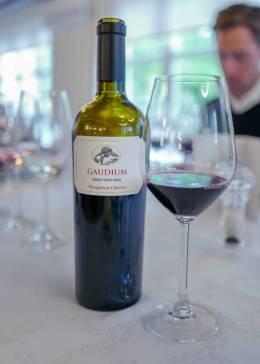 Gaudium: Nydelig vin til grillet kalvekjøtt med grillet paprika. Typisk La Rioja-mat.
