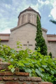 Klart kirken har sine egne vinranker