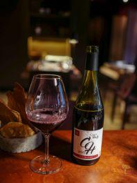 Vinen til jordskokken: 2015 Haty Croix Nicolas Dubost, Beaujolais. Helt uten svovel og fremstilt med Carbonic maceration. Masse kirsebær.