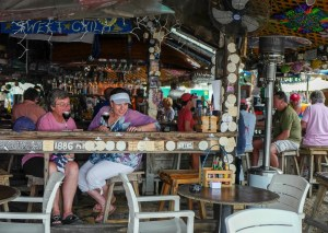 Hæla i taket i Key West