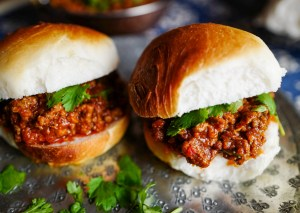 Keema Pav – gatemat fra India