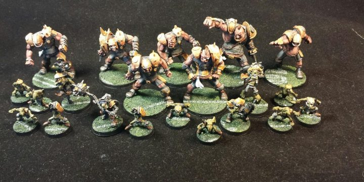 [Showcase] Bloodbowl Ogres Steelers