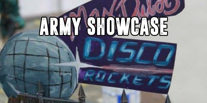 Ultramarine Disco Rockets – Army Spotlight