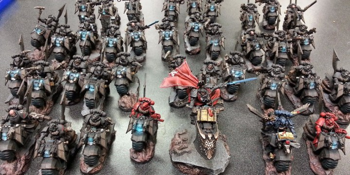 Step by Step – Painting a Ravenwing Army