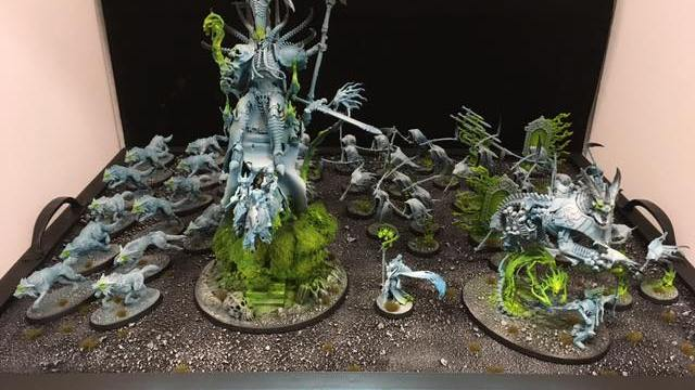 A Fully Painted Army in 24 Hours