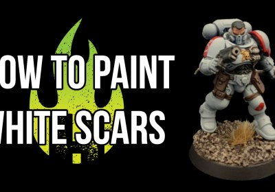 How to Paint White Scars