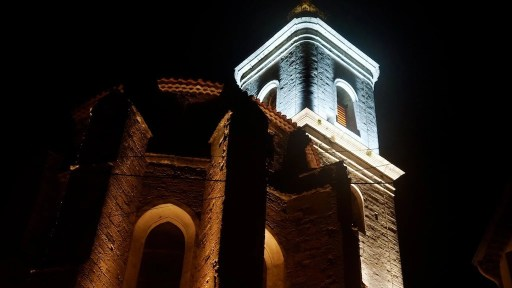 Eclairage LED d'église