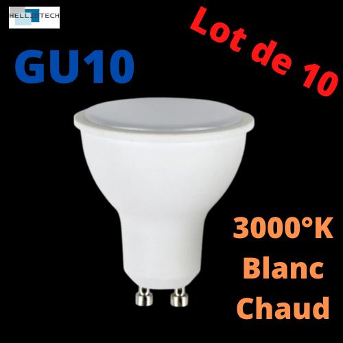 Ampoules GU10 LOT DE 10