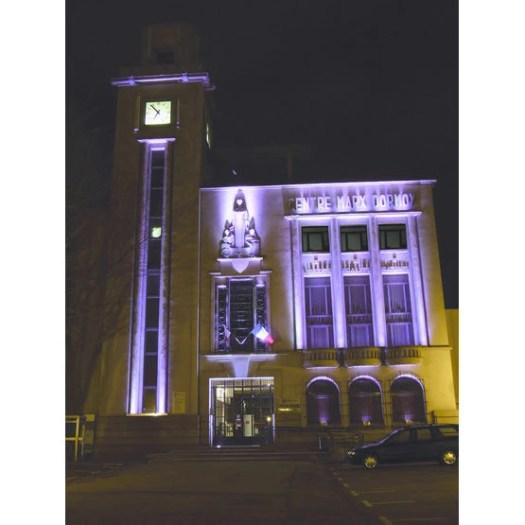 Bâtiment Historique Mis en valeur par l'éclairage LED