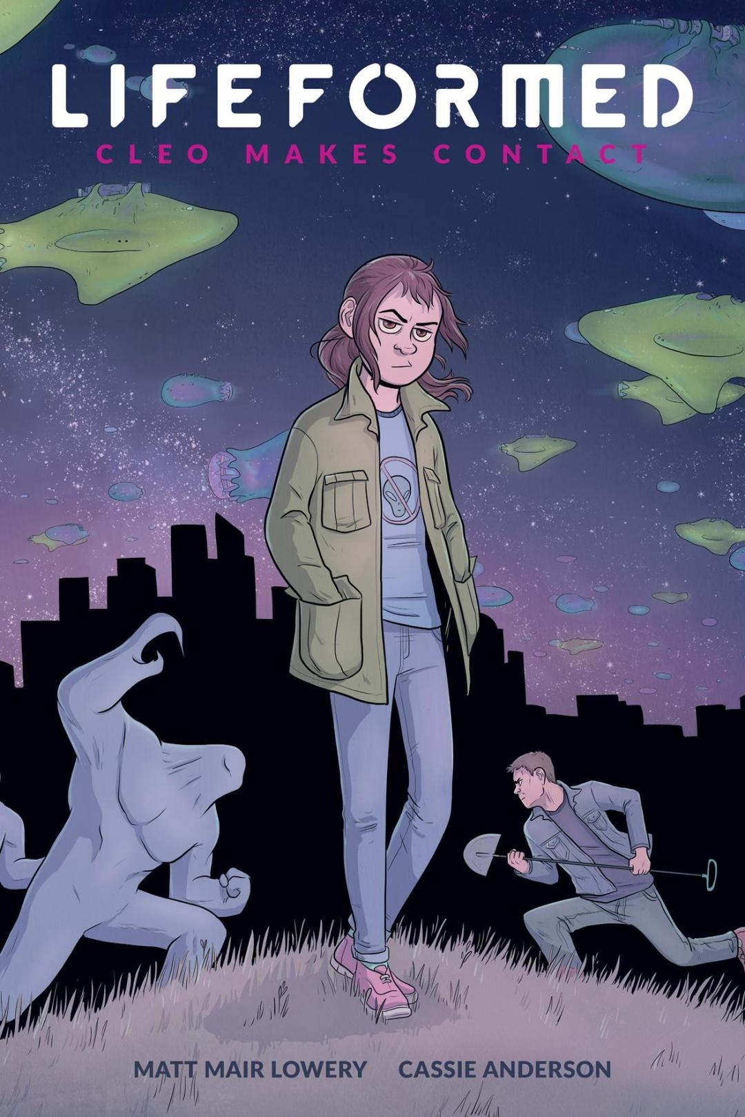 'Lifeformed: Cleo Makes Contact' Lands a Dark Horse OGN Release