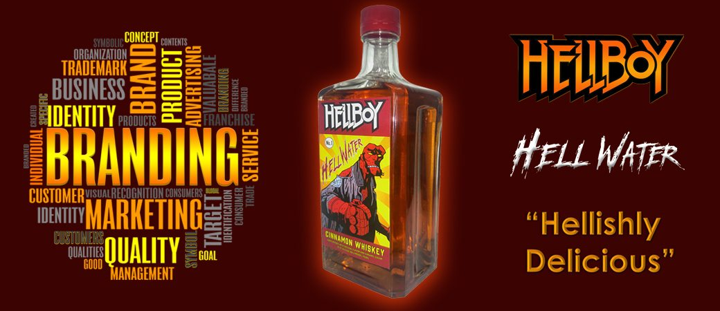 Hellboy Hell Water Cinnamon Whiskey is Now On Sale