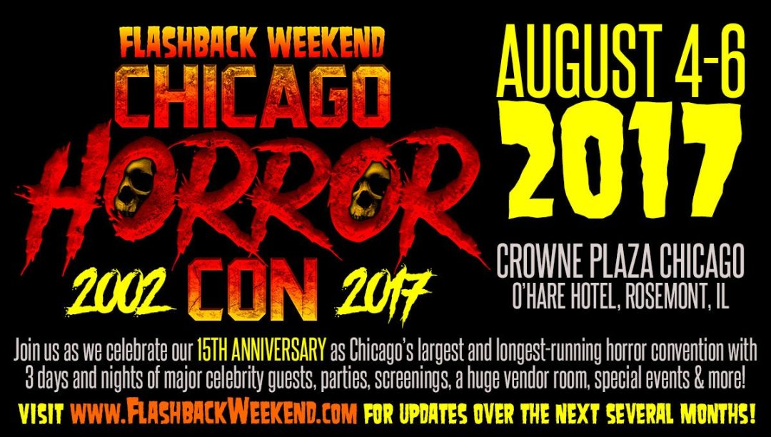 Flashback Weekend Chicago 2017 Will Be Full Of 'Nightmare On Elm Street' Fun!