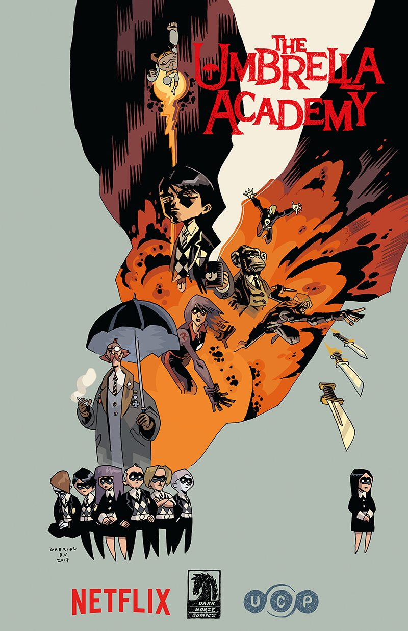 Gerard Way and Gabriel Ba's 'The Umbrella Academy' Comes to Netflix in New Live-Action Series