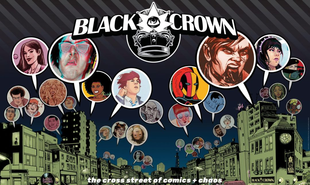 IDW Wants To Introduce Us To 'Black Crown – The Ruling Class' & More!