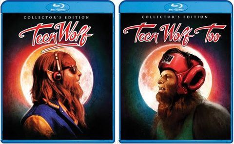 Teen Wolf and Teen Wolf Too – Blu-ray/DVD Reviews