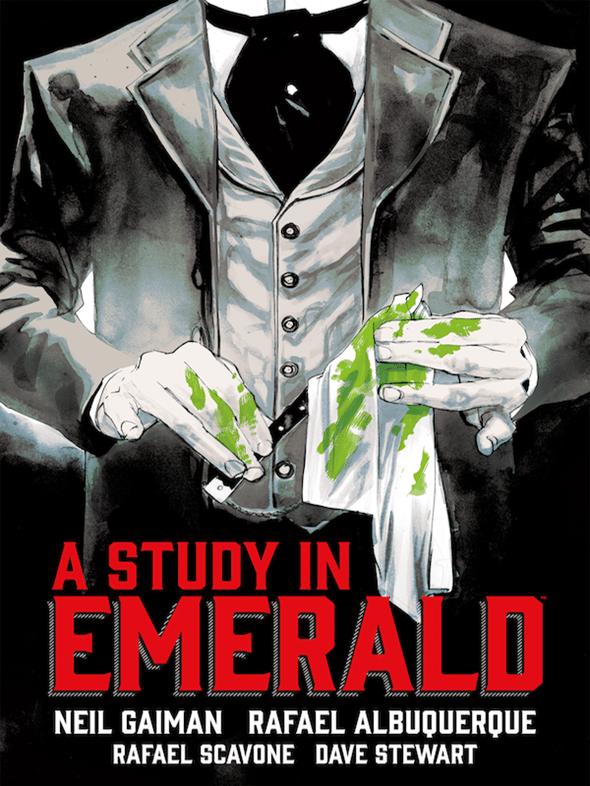 Dark Horse Announces 'A Study in Emerald'