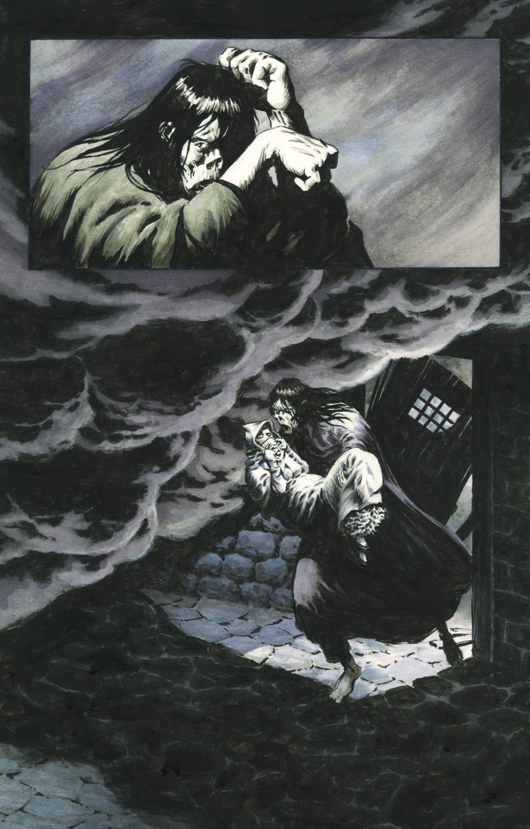 Steve Niles and Bernie Wrightson's 'Frankenstein, Alive, Alive' Returns