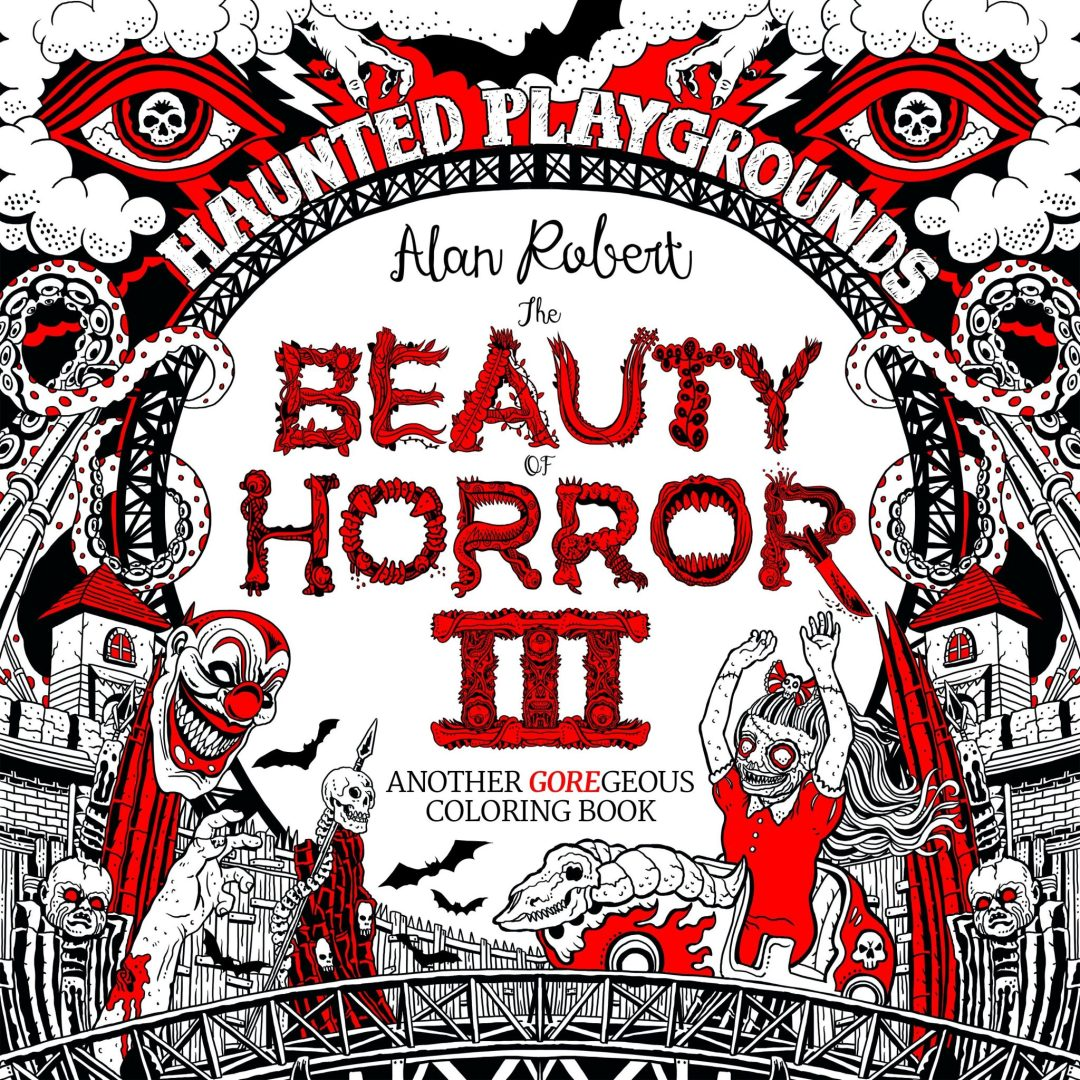 The 'Beauty of Horror Coloring Book III' Goes International