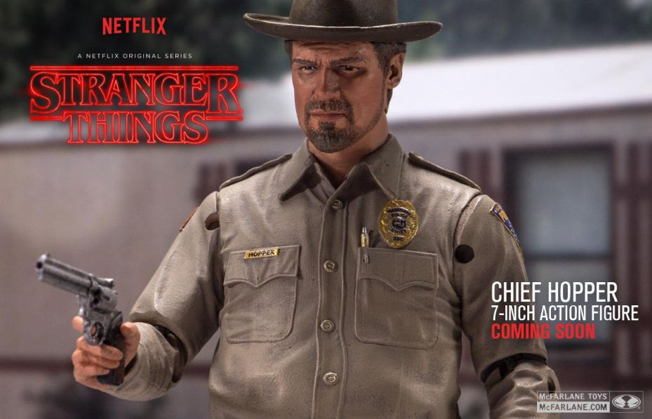 McFarlane Toys is Getting Stranger With a Chief Hopper Toy!