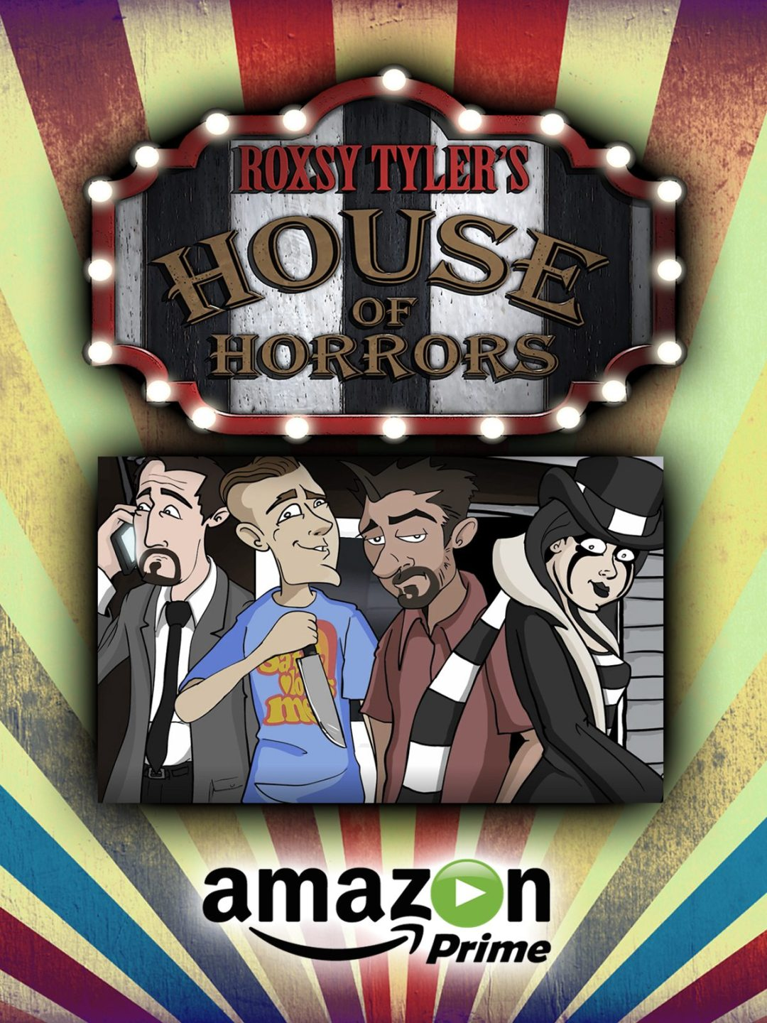 The New TV Series 'Roxsy Tyler's House of Horrors' Premieres on Amazon Prime