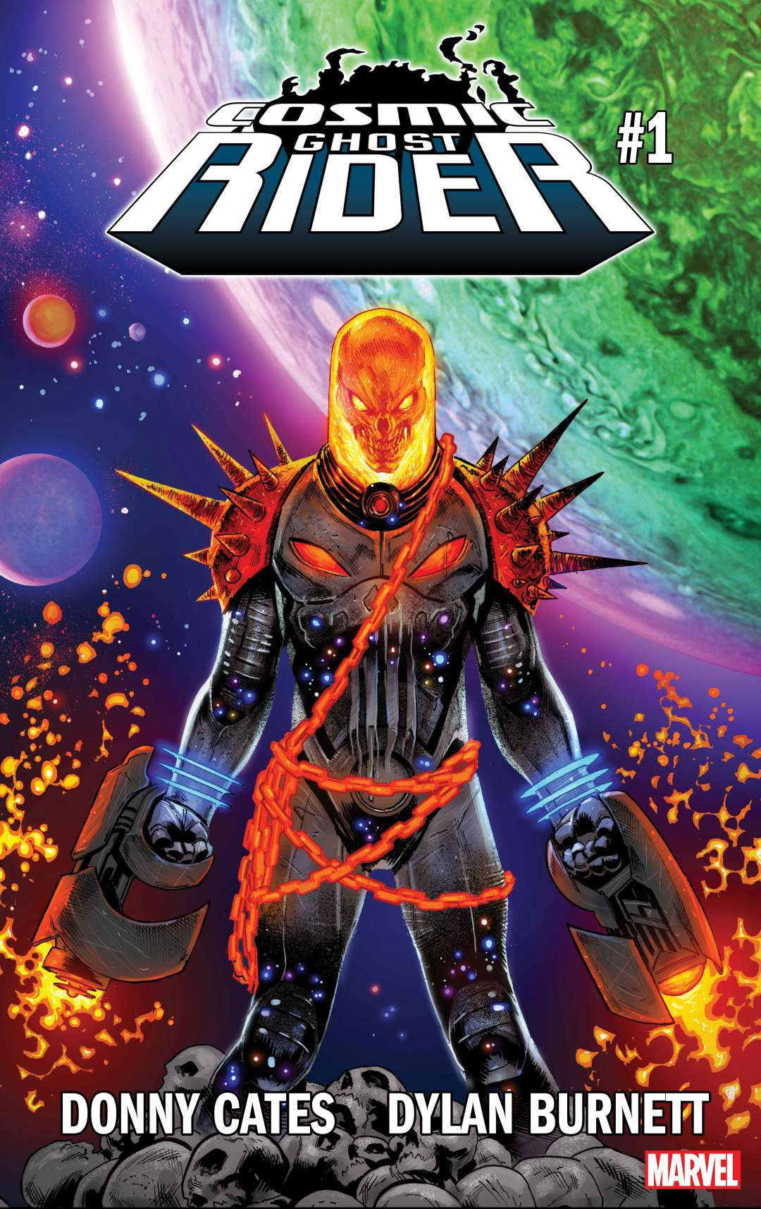 'Cosmic Ghost Rider: Punishment By Fire!'