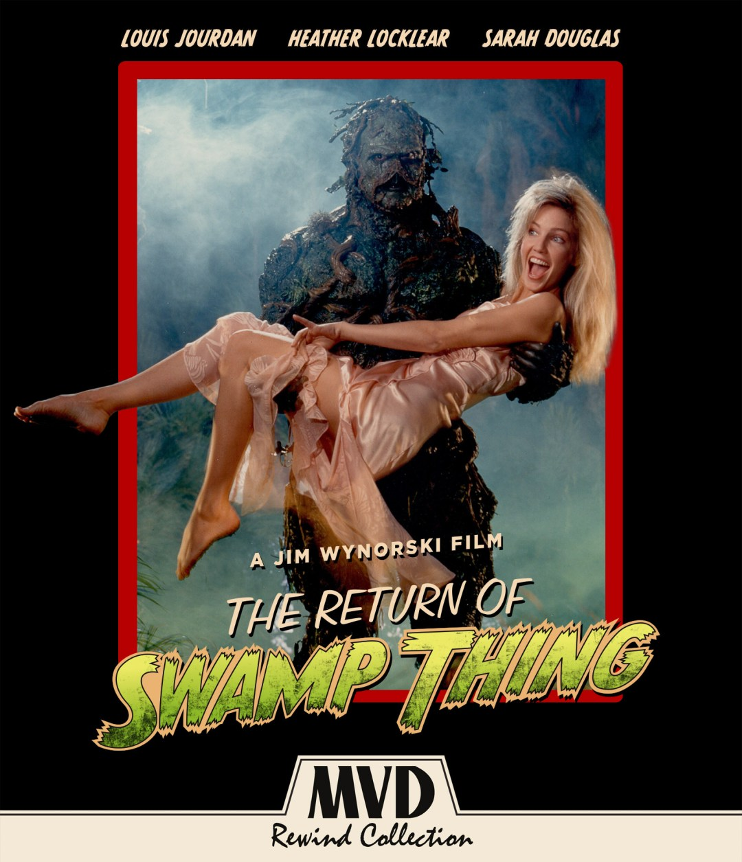 'The Return of the Swamp Thing' (1989) Available on Blu-ray/DVD on May 8th