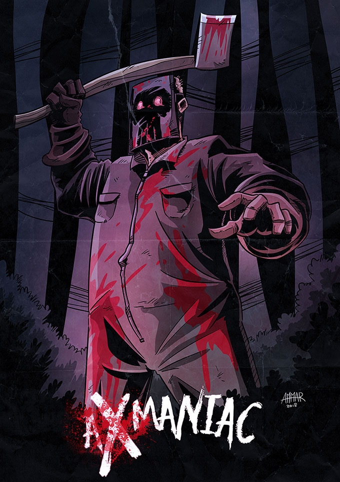 'Axmaniac' – A Slasher Horror Comic on Kickstarter