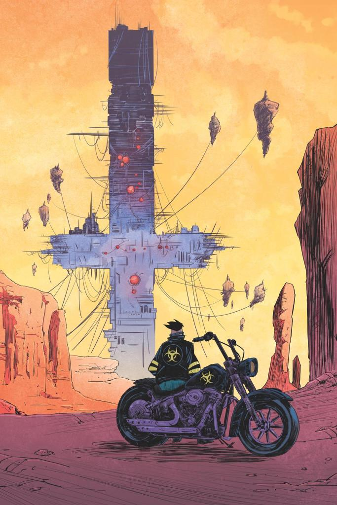 Ryan Ferrier and Alejandro Aragon Present a Vision of Post-WW3 America in 'Death Orb'
