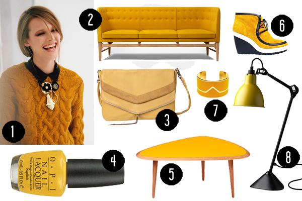 Shopping tendance Moutarde - Hëllø Blogzine
