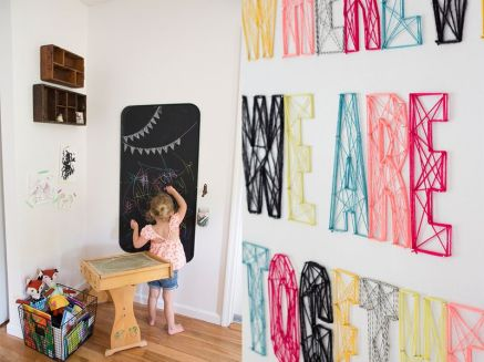 diy chouette deco pour chambre d enfant cmachambre le blog qui p tille. Black Bedroom Furniture Sets. Home Design Ideas