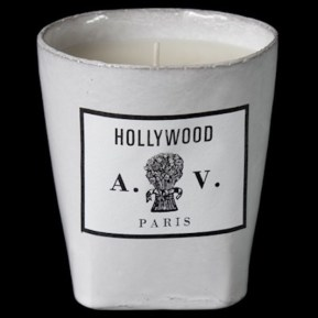 Bougie Hollywood, 80€, Astier de Vilatte