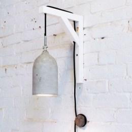 DIY beton lampe