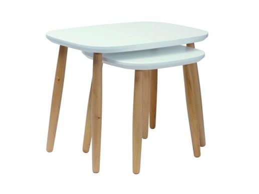 Tables basses gigognes scandinaves