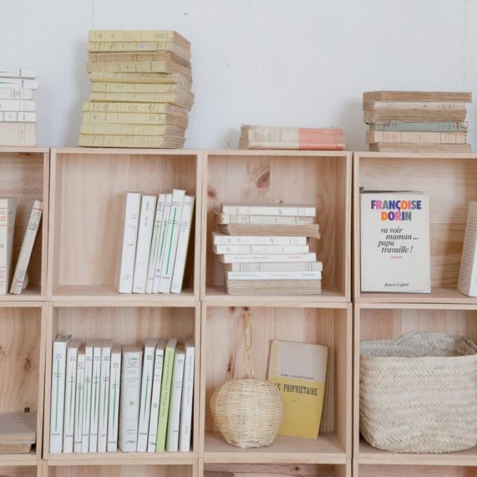 Où trouver des étagères cubes et maison, pas cher