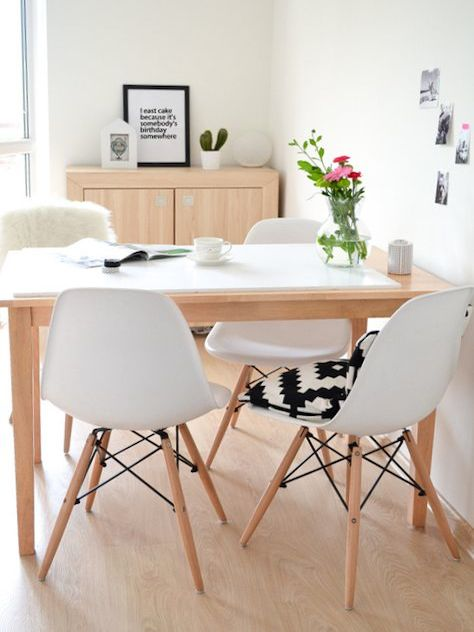 Comment donner un look scandinave votre salon h ll - Table de salon style scandinave ...
