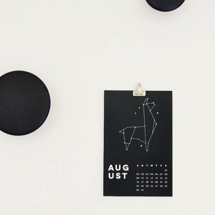 calendrier-noir-et-blanc-design