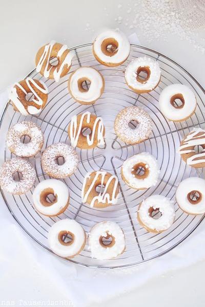Donuts glaçage blanc