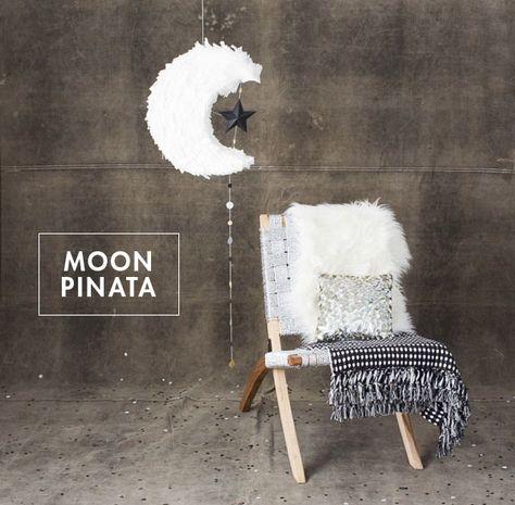 Pinata lune faite main DIY