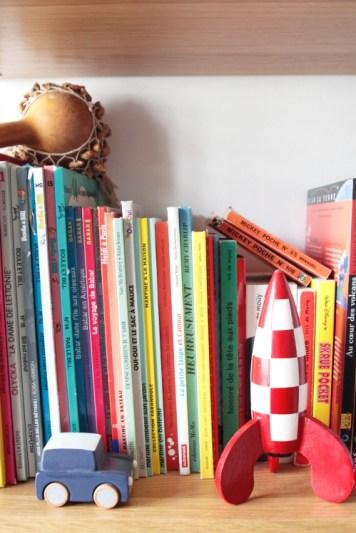 Fusée, Tintin, voiture Kiko