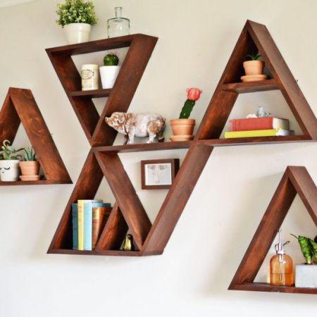 Etagères Triangulaires à Faire Soi Même