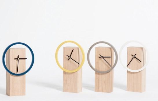 Horloge bois Made In France Drugeot Labo