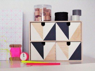 Motif Géométrique Ikea Hack