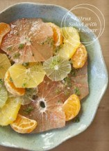 Salade Agrume Citron Orange Menthe