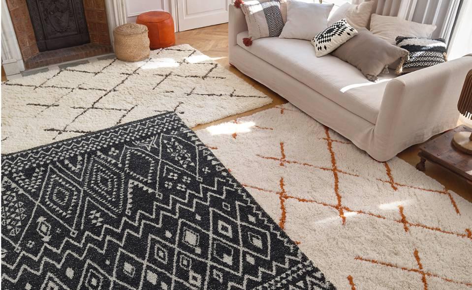 Good les bonnes adresses pour trouver des tapis berbres hll blogzine blog deco with saint maclou - Tapis carreaux de ciment saint maclou ...