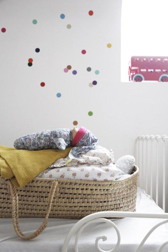 Une déco vintage et colorée pour une chambre d\'enfant