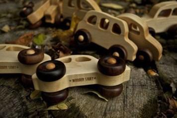 Wooden Story toys voiture en bois