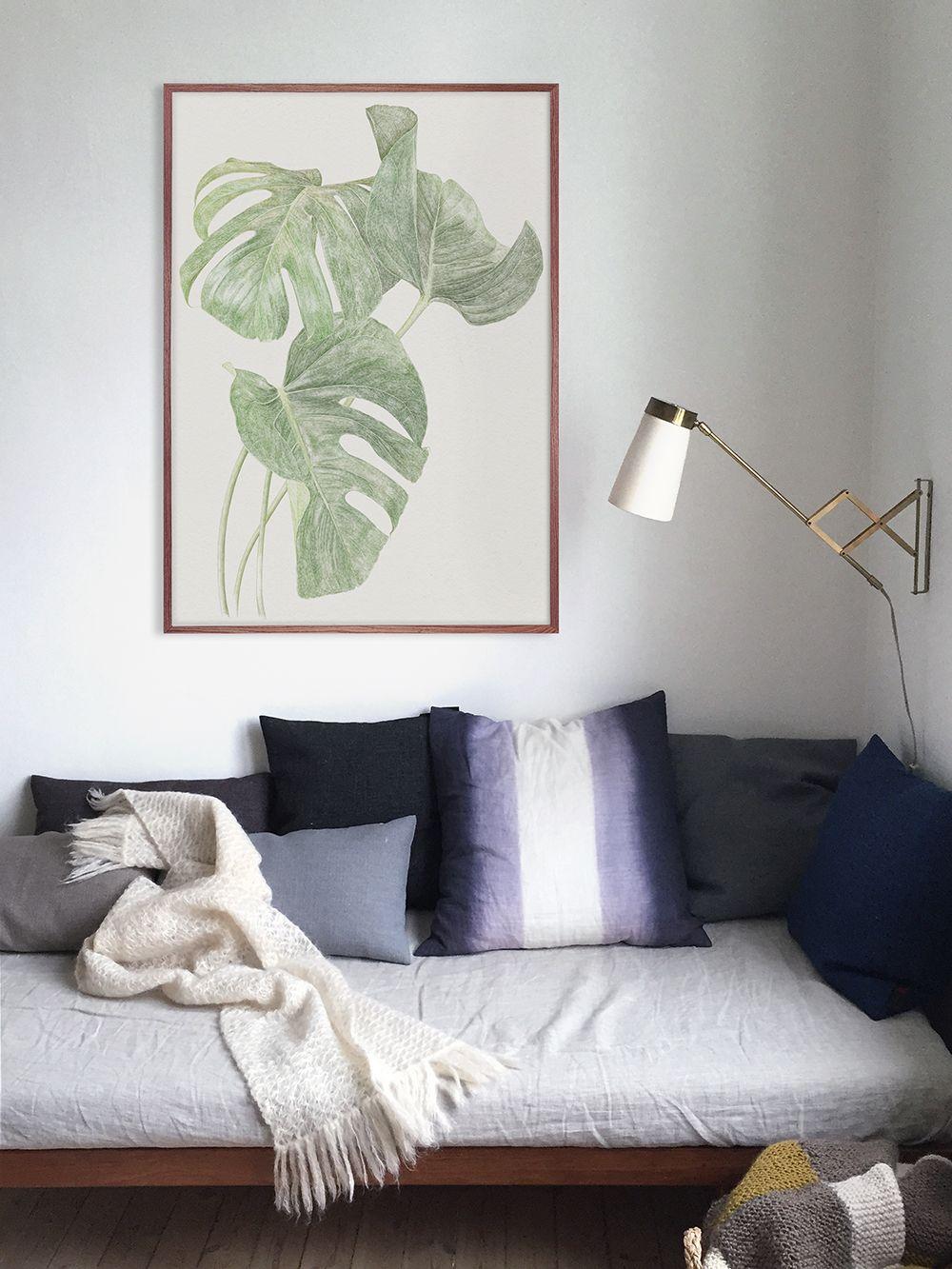 affiche feuilles fine little day h ll blogzine. Black Bedroom Furniture Sets. Home Design Ideas